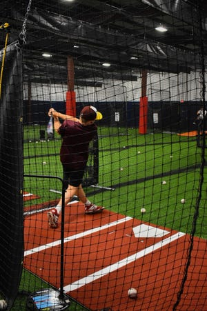 Baseball and softball players will be able to develop their skills at the new Patriot Athletic Club in Rockland when it opens Aug. 1 .