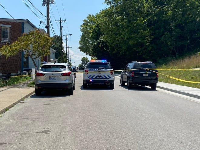 Police responded shortly after 11:30 a.m. Monday to the 900 block of Montague Road, Covington, for gunshots fired at a house.
