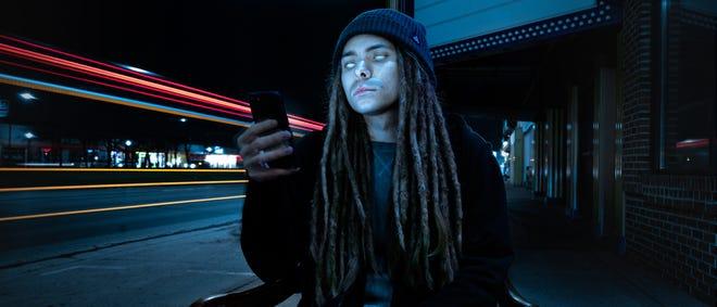 Detroit musician Skywerth.