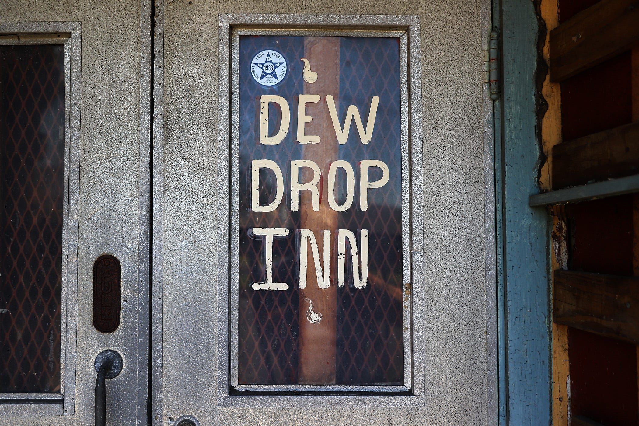 The historic hotel and nightclub the Dew Drop Inn is on LaSalle Street in New Orleans.
