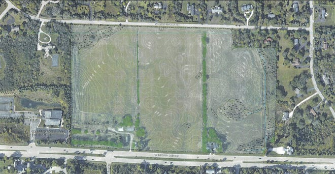 The Village of River Hills approved conceptual plans for a 60-home development at the Eder Farm property.