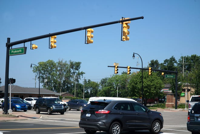 The intersection of Plymouth and Merriman in Livonia could become a community hub under the Livonia Vision 21 Master Plan.