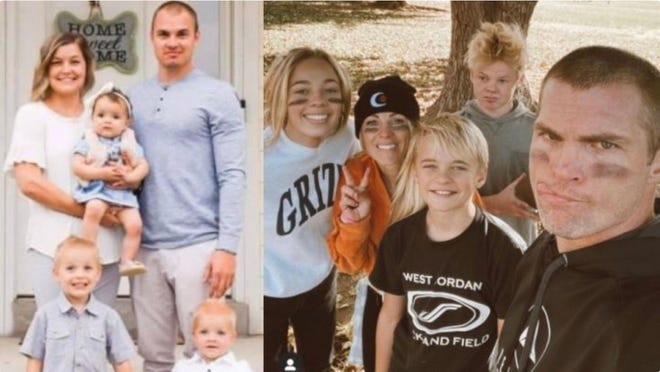 Family photo of Mason and Race Sawyer, five of which died in a car crash on July 25, 2021 due to a vehicle pile up on I-15 caused by a Sandstorm.