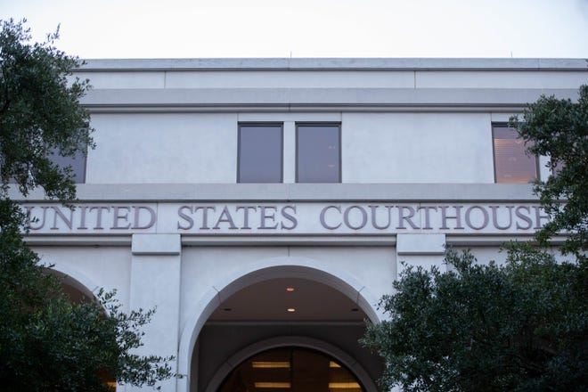 The U.S. Courthouse in downtown Tallahassee Monday, July 26, 2021.