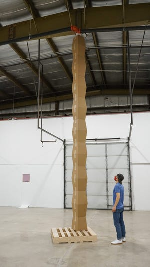 The International Sculpture Center awarded an Outstanding Student Achievement in Contemporary Sculpture Award to Keith Kaziak. Kaziak, a Wausau native who also worked at the University of Wisconsin-Stevens Point, is a graduate student at UW-Madison.