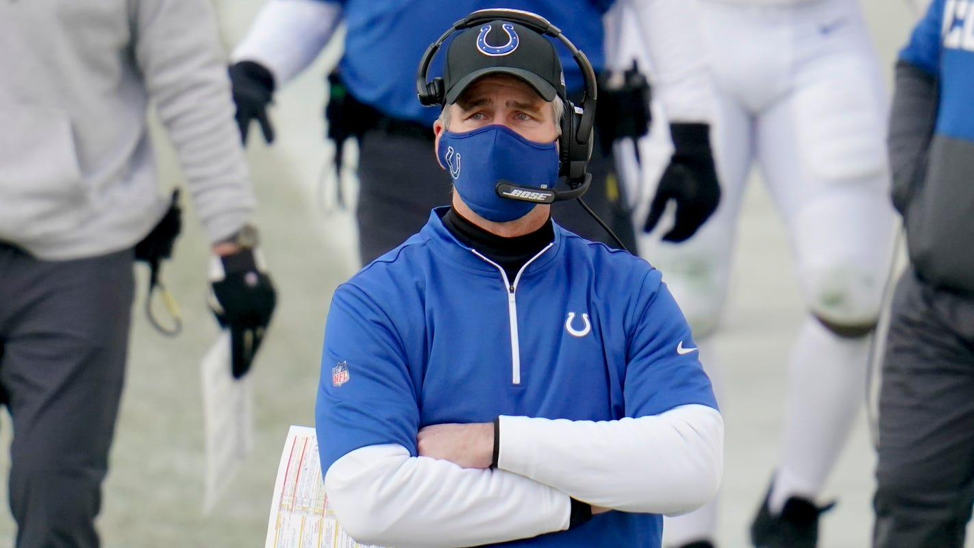 Colts coach Frank Reich tests positive for COVID-19 despite being vaccinated