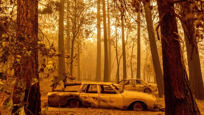 Massive Dixie Fire merges with Fly Fire as California wildfires rage