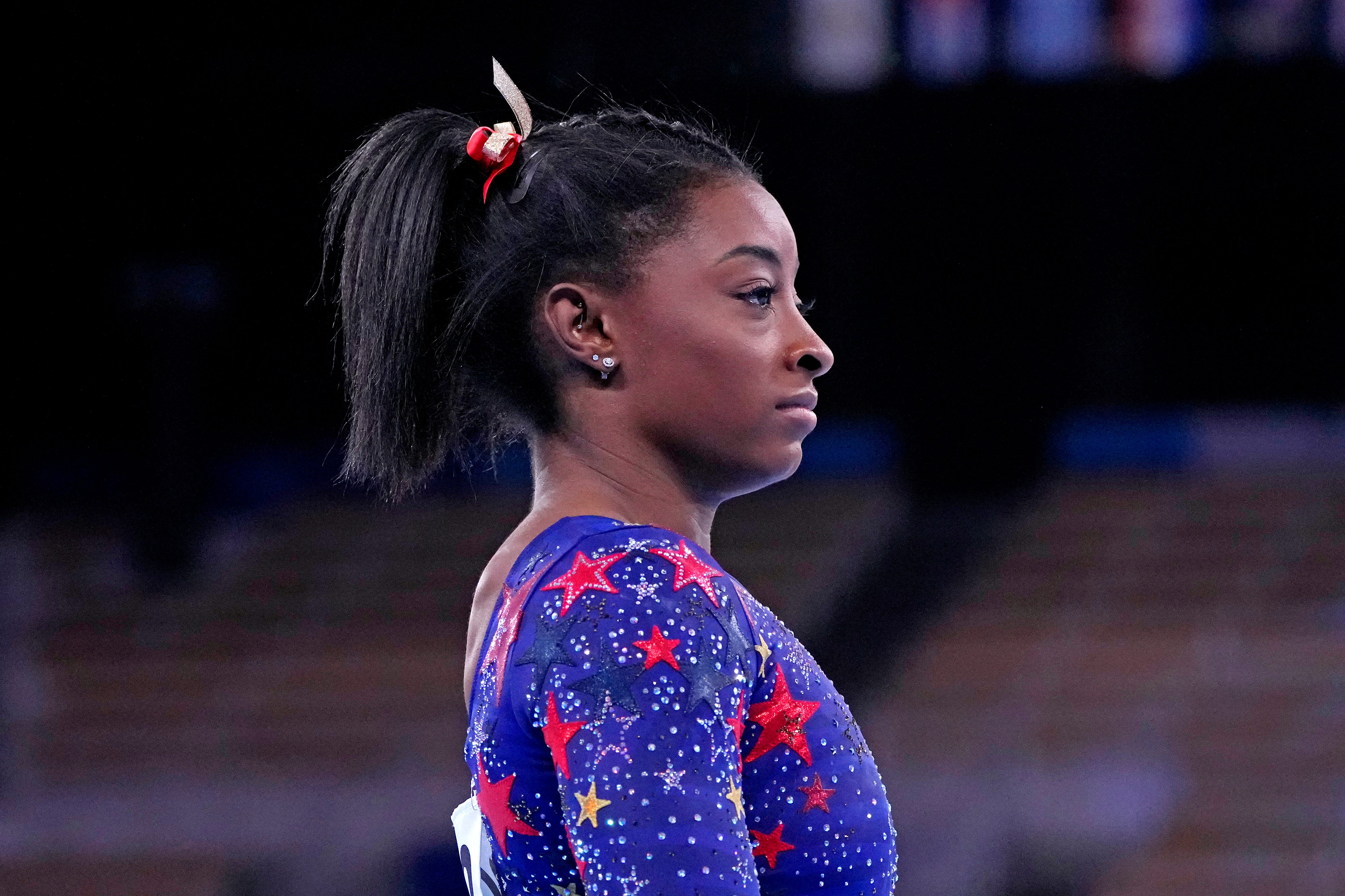 Simone Biles acknowledges Tokyo expectations tough to handle:  Sometimes it s hard