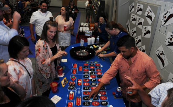 Smithville Chamber of Commerce's 24th annual Casino Night on Saturday at the Smithville Recreation Center.