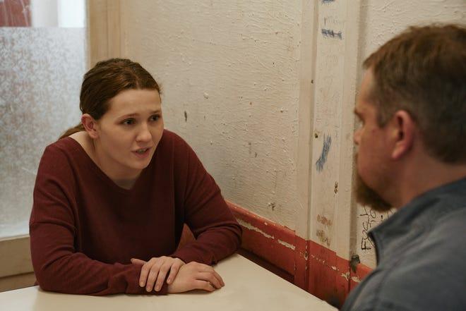 "Abigail Breslin plays Allison and Matt Damon portrays Bill in director Tom McCarthy's ""Stillwater."""