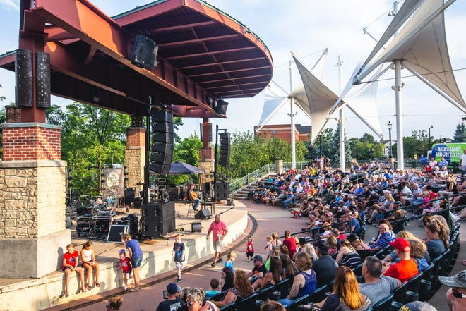 Falls Downtown Fridays at the amphitheater will begin Aug. 6 and occur every Friday through Sept. 3.
