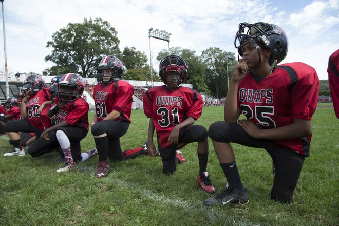 """Aliquippa's youth football players are set to rejoin """"Friday Night Lights: Steel Country"""" for season two."""