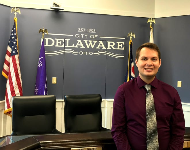 Stephen Tackett was named July 8 to fill the First Ward vacancy on Delaware City Council. Tackett said he will run in November to fill the remainder of the unexpired term, which will end November 2023.