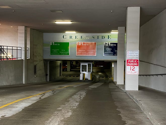 Gahanna is looking for a consultant to modify the Creekside parking garage to bring it into Federal Emergency Management Agency compliance for flood proofing.