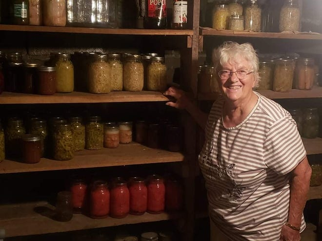 For Peggy Cunningham, 82,  canning has been a way of life since she was a little girl.