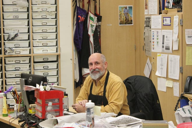 Randy Robart was the art teacher at Rittman High School until he died earlier this year due to complications from pancreatic cancer.