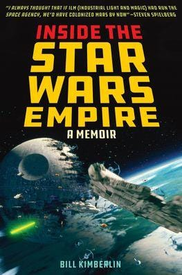 """Bill Kimberlin discusses """"Inside the Star Wars Empire"""" Friday at the Book Loft."""