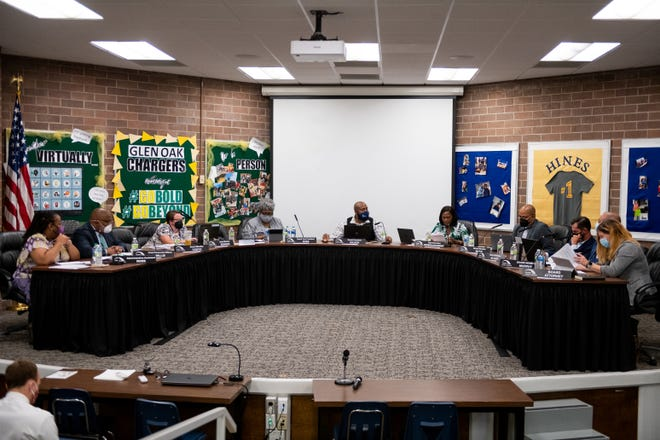 The Peoria Public Schools' board meets on Monday, July 26, 2021.