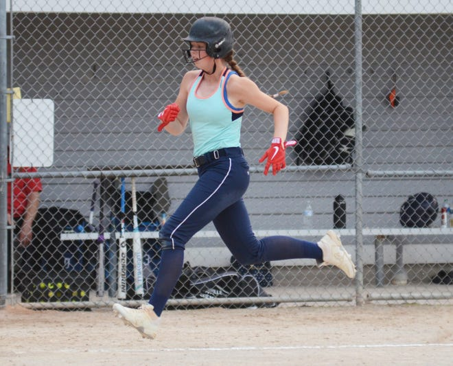Brooke Bixby helped the Blaze to another win with a pair of runs scored and two RBIs.