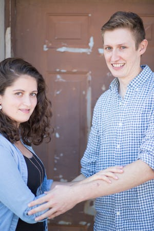 """Katie Juster and Brett Reis star in """"Barefoot in the Park"""" at the Players' Ring in Portsmouth in September."""