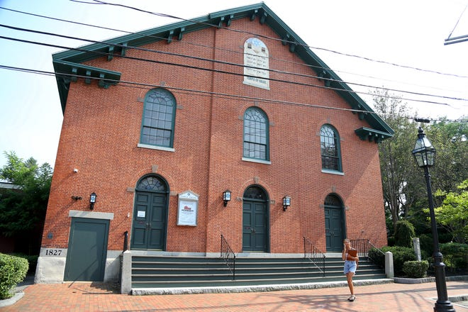 Temple Israel in Portsmouth is one of 14 nonprofit organizations, mainly houses of worship, that received funding for security measures from the Federal Emergency Management Agency.
