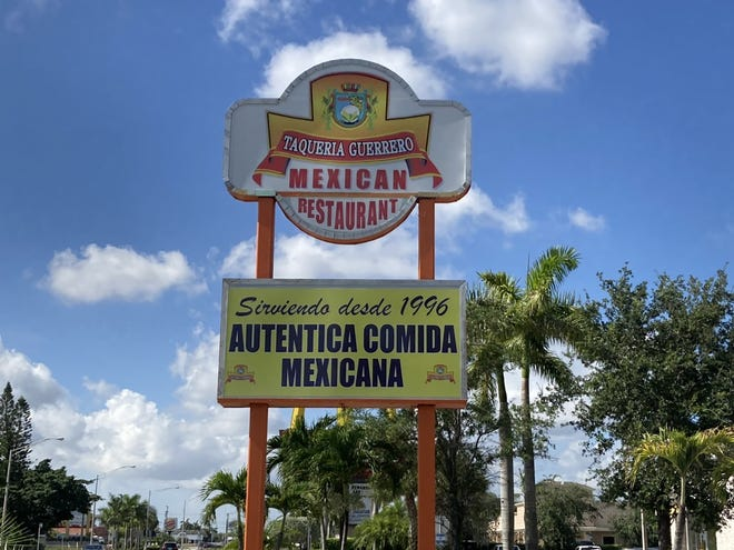Taqueria Guerrero was one of six restaurants in Palm Beach County that had some inspection troubles last week. The eatery made the necessary corrections and is open for business.