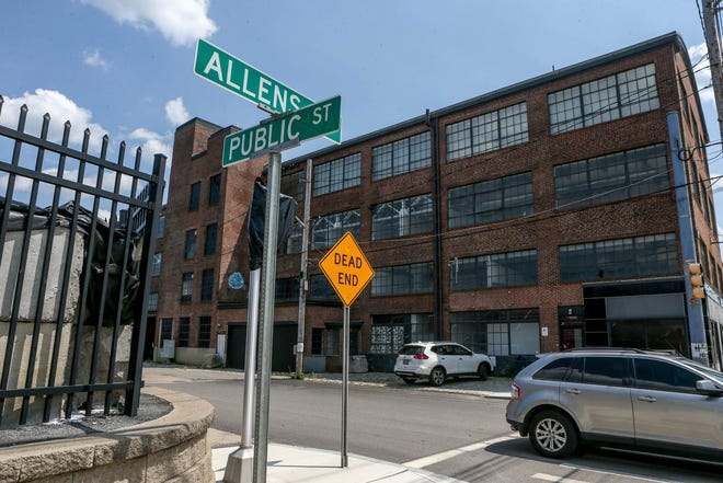 The corner of Allens Avenue and Public Street in Providence.