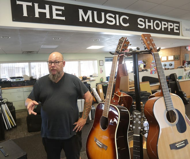 John Soptelean, an employee at The Music Shoppe, is trying to re-energize Massillon's Last Saturday event. Multiple downtown locations and businesses are offering merchandise, food, beverage and service discounts related to the event.