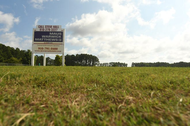 A developer has submitted plans for the construction of a new office building at 3360 Jaeckle Drive in the Burnt Mill Business Park.