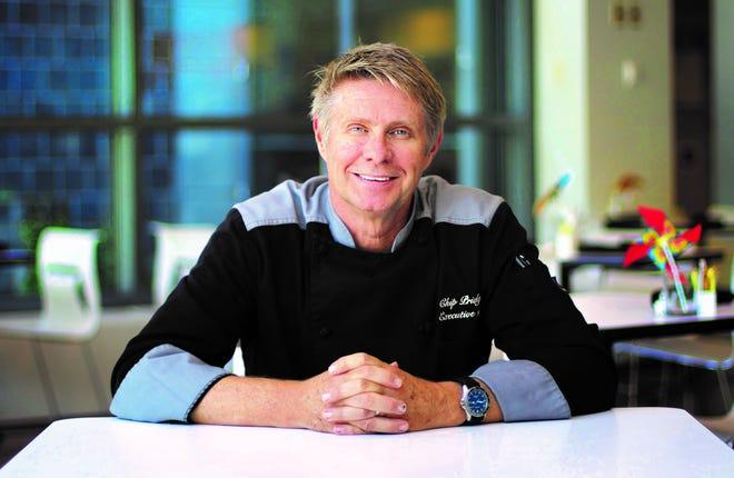 Chip Pridgen returns as executive chef to CAM Café in Wilmington.