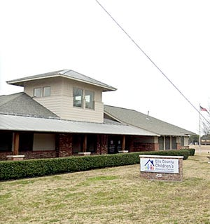 The Ellis County Children's Advocacy Center at 425 Ross Street in Waxahachie.