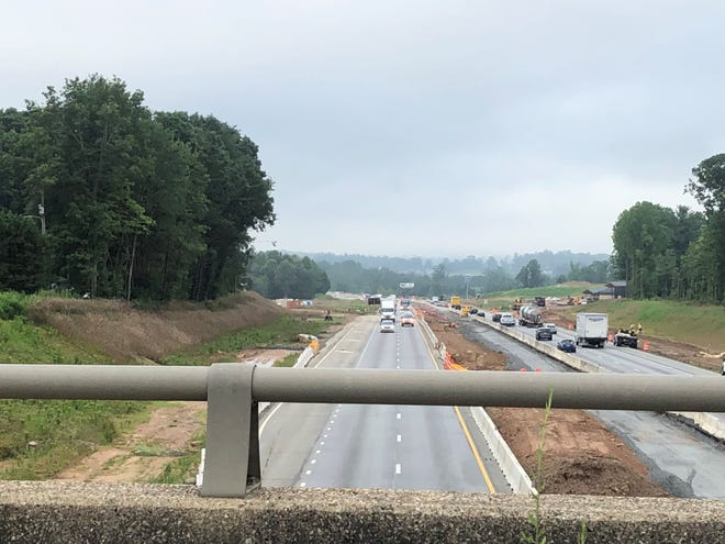Detour routes with longer green lights will be used to accommodate traffic increases caused by the nighttime closure of several I-26 segments through Aug. 18.