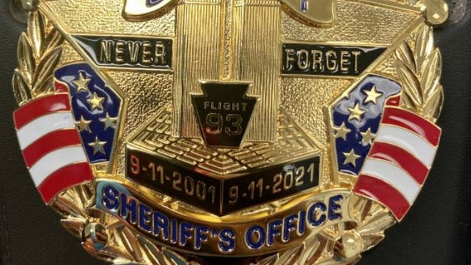 Never forget badge for the Hamilton County Sheriff's Office.