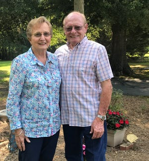 Frances and Charles Painter are worried that a proposed subdivision would worsen traffic on Anderson Ridge Road, which passes the home where they have lived for 54 years.