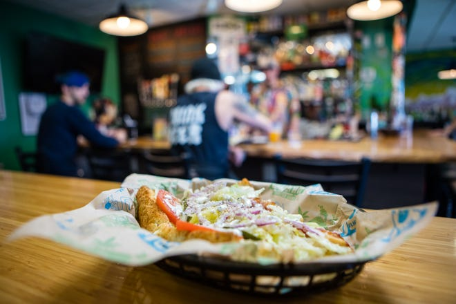 Cheba Hut offers more than 30 signature sub sandwiches, a variety of Rice Krispy treats, salads and other munchies.