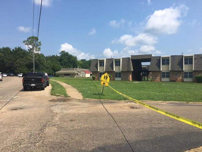 There was an increased law enforcement presence Tuesday morning at Selma Square Apartments where a Selma police officer was shot and killed early Tuesday morning.