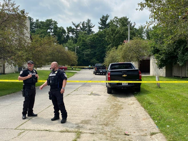 Muncie police on July 22 were at the scene of a man's shooting death at the Canterbury Townhomes complex on the city's west side.