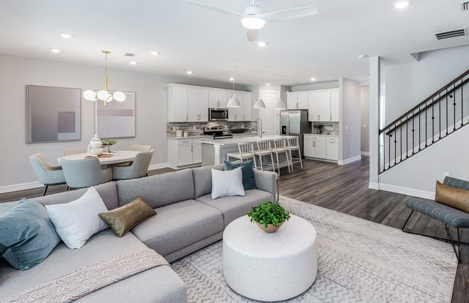 Avalon Park by Pulte Homes Whitestone Gathering Room.