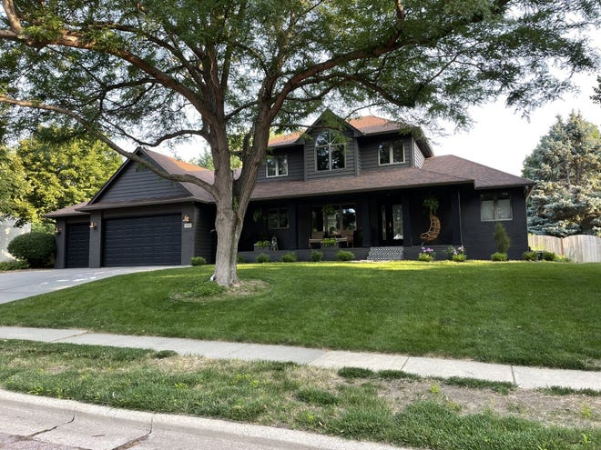 The five-bed, six-bath home at 3611 S. Slaten Park Drive in Sioux Falls offers 4,484 square feet on about .43 acres of land near Tuthill Park and Pasley Park.