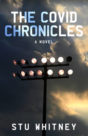 """""""The Covid Chronicles"""" follows an unnamed author as he struggles through the pandemic, the state of the media, a political tug-of-war and getting roped into a dangerous militia scheme. The book will be published Aug. 10."""