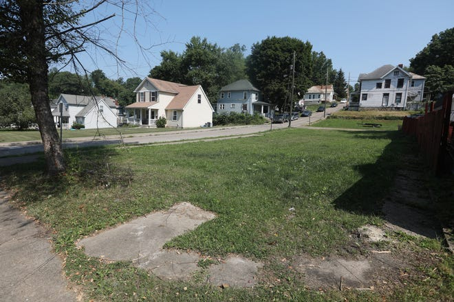 The vacant lot at 1101-1105 Greenwood Avenue will have a lien for $23,000 placed on it. The property was once a house, which burned down in 2020 and was later demolished.