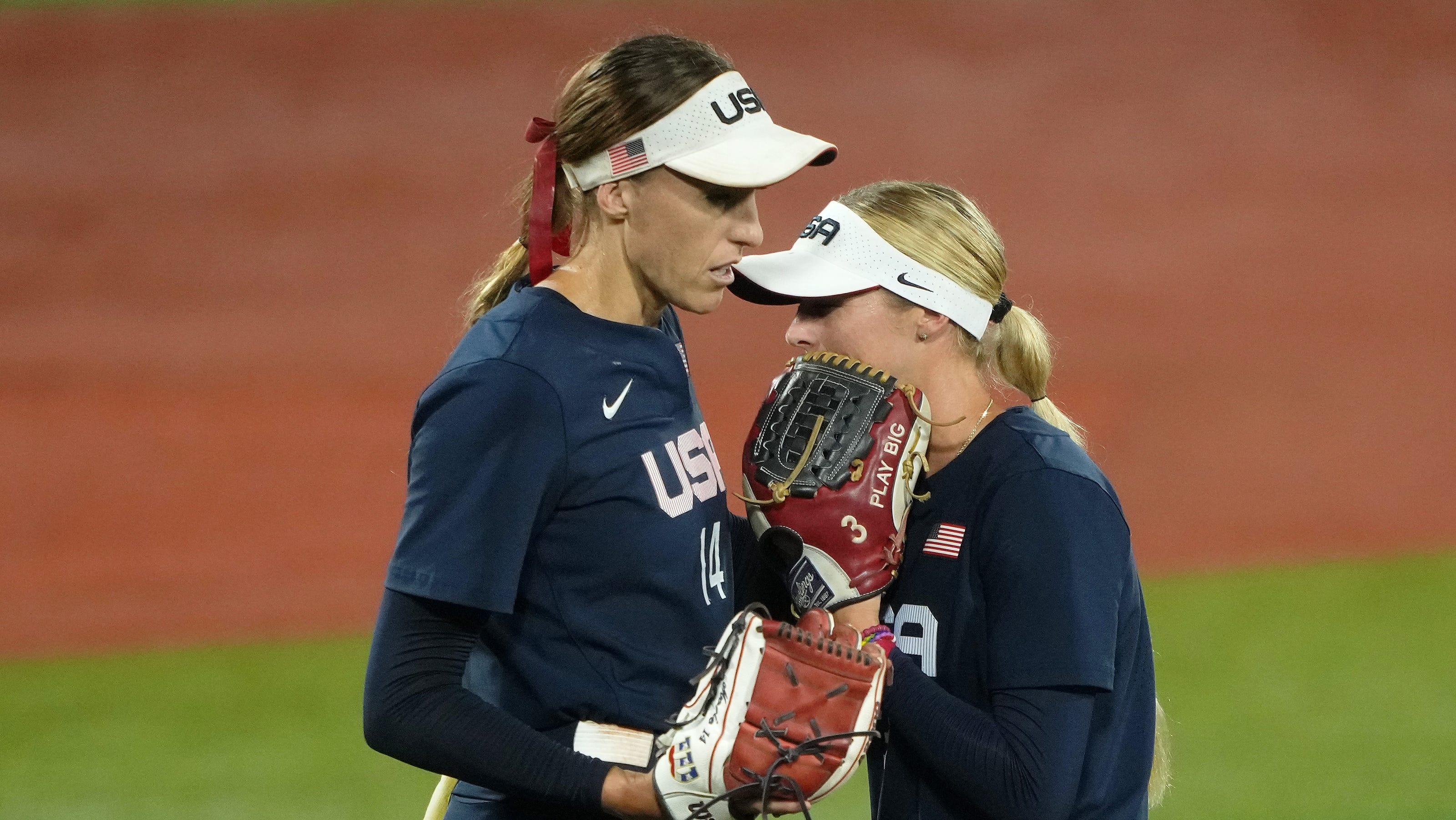 US softball loses to Japan again in gold medal game to take silver at Tokyo Olympics