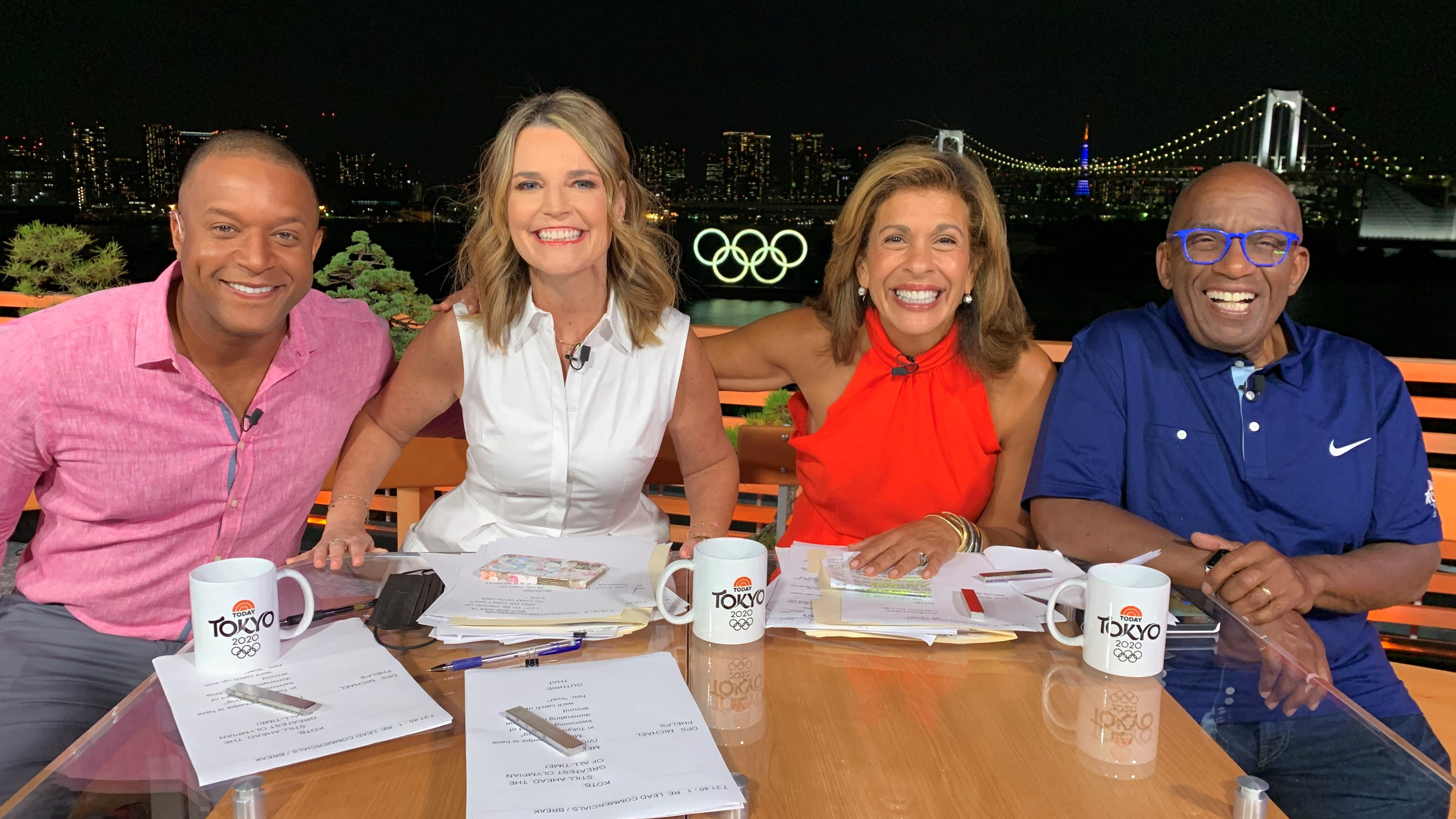 How 'Today' anchors are standing in for families at the Tokyo Olympics: 'They need people here'