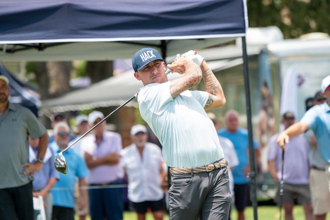 Johnny Manziel's debut in the Texas State Open, played in the town where he was born, didn't go exactly as the former Heisman Trophy winner planned. He stood dead last after the early wave of players finished on Wednesday.