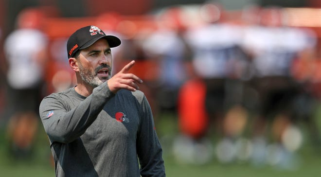 Browns coach Kevin Stefanski said most of the starters will not play but all of the rookies will Saturday night in the preseason opener against  the Jacksonville Jaguars. [Jeff Lange/Beacon Journal]