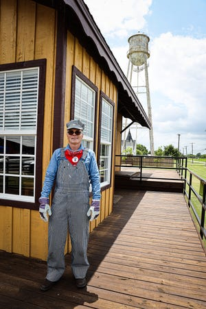 Anna Train Depot and Museum director Elden Baker says that he is excited for neighbors to soon come and check out the new facility.
