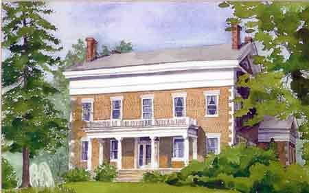 Watercolor workshops are offered Aug. 13-14 at Cobblestone Springs retreat.