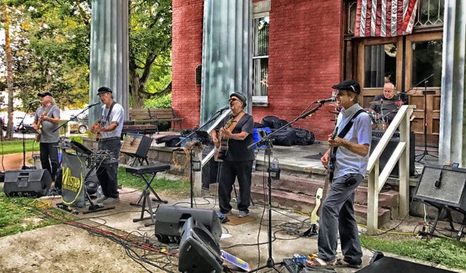 Mr. Mustard, a Beatles tribute band, will be performing Aug. 11 at the Courthouse Concert in Penn Yan