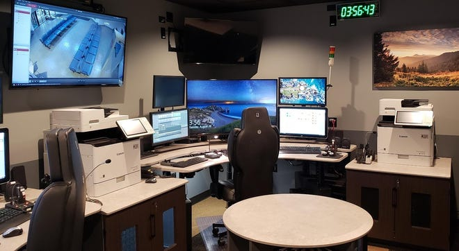 Guernsey County commissioners on Wednesday approved installation of two new air conditioning units to serve the 911 Call Center at the sheriff's office on Southgate Parkway in Cambridge.