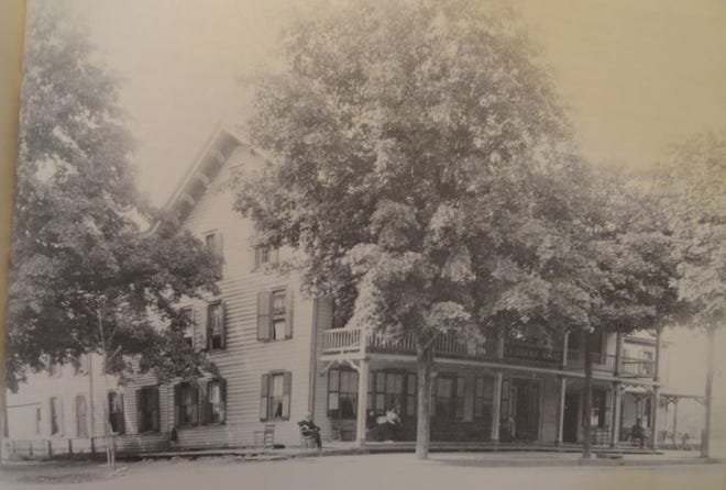 The Crissman House, Milford, Pa. courtesy Paul Snearly. /Milford Pa. Heritage 250